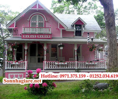 son-nha-theo-huong-nam-duoc-su-dung-son-mau-cam-1-1 Cách lựa chọn màu sơn nhà theo hướng và đặc điểm khí hậu