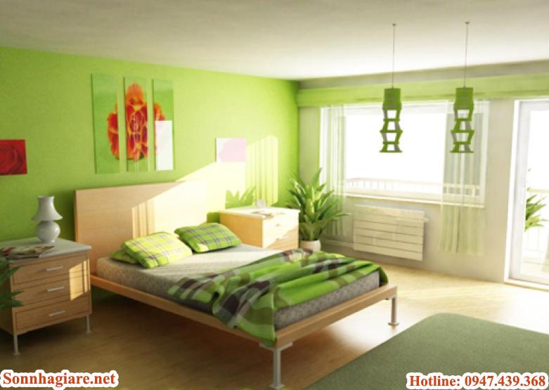 mau-son-phong-ngu-cho-nguoi-menh-moc-hop-phong-thuy-lai-tuyet-dep Màu sơn phòng ngủ cho người mệnh Mộc hợp phong thủy lại tuyệt đẹp